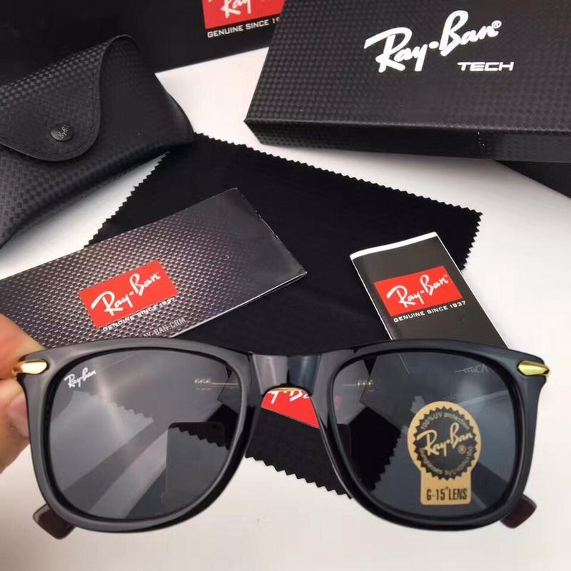58ee9b9828 Men s Women s Ray Ban RB2148 Sunglasses All Black.