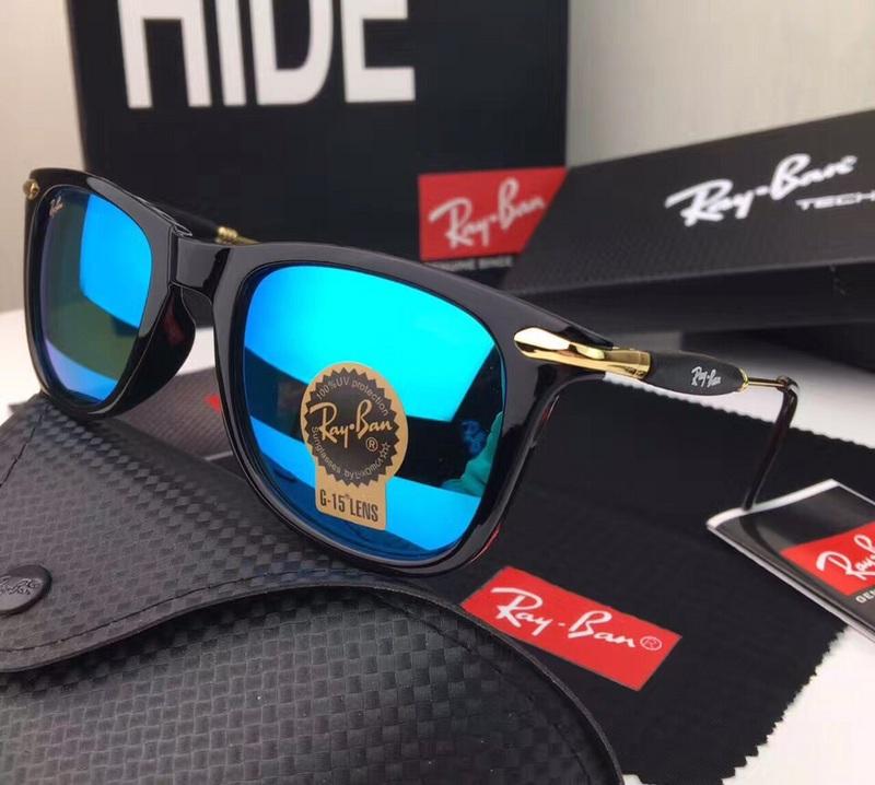 c701c38b2b Men s Women s Ray Ban RB2148 Sunglasses Blue Lens.