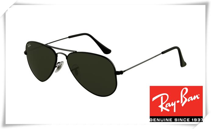 37ac4d8cf1f Ray Ban RB3044 Aviator Small Metal Sunglasses Bla.