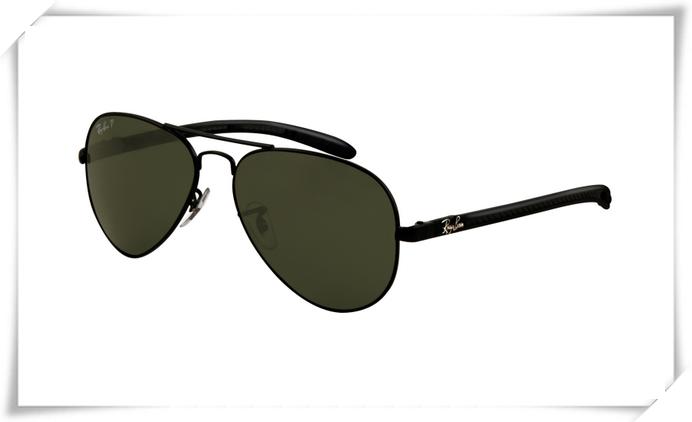 d4498fa685ce4 Ray Ban RB8307 Aviator Tech Sunglasses Carbon Fib.