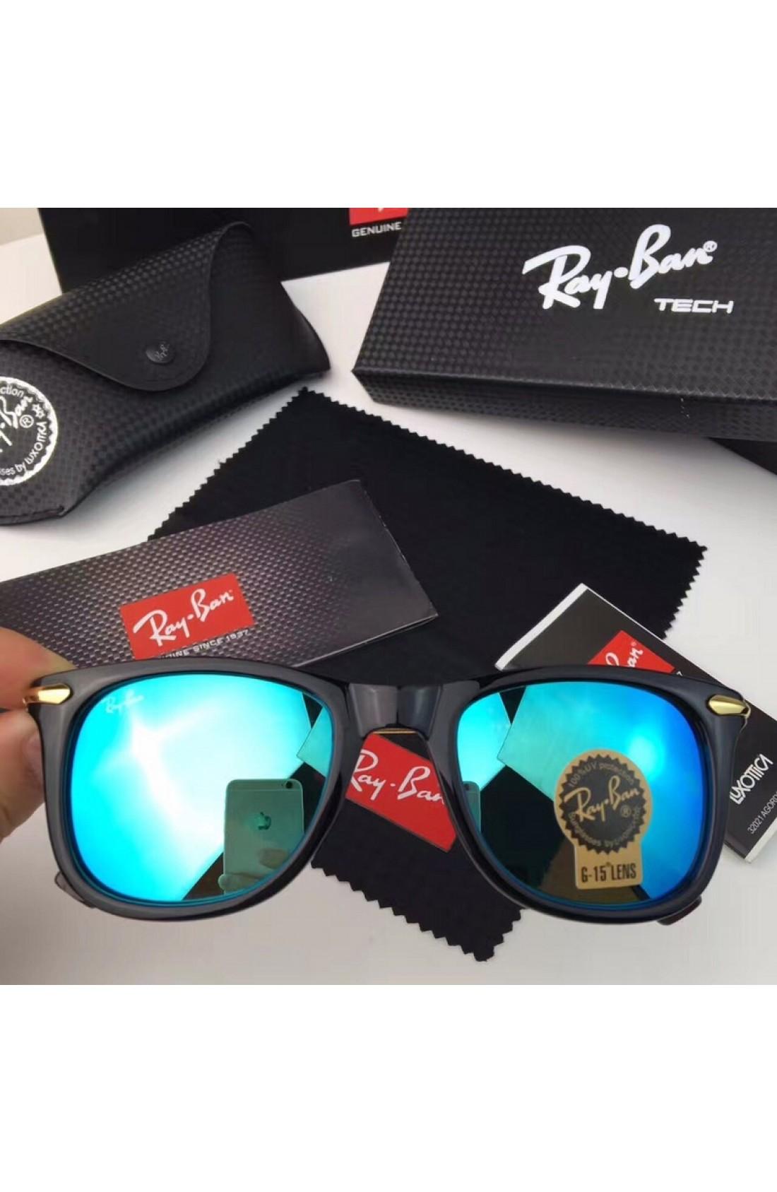 4c6db82a66 Warehouse Sale Men s Women s Ray Ban RB2148 Sunglasses Blue Lenses ...