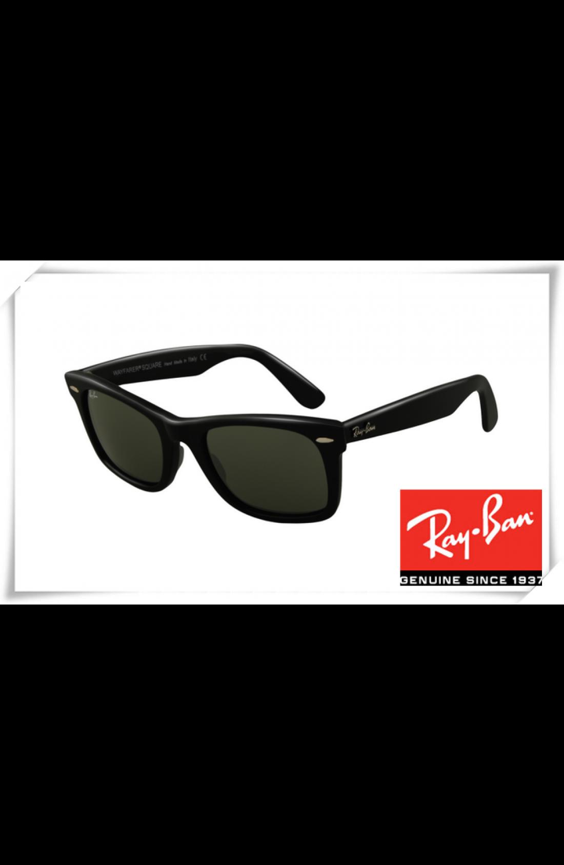 8bfe72fc0e Cheap Fake Ray Ban RB2151 Square Wayfarer Sunglasses Black Frame ...