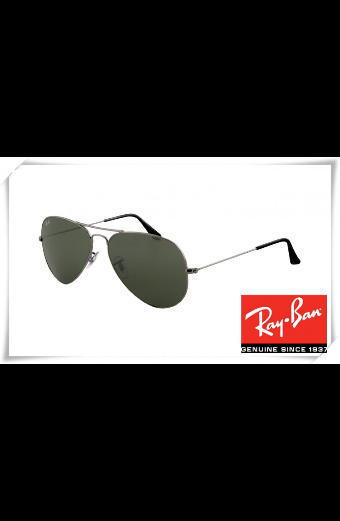 d8eae401c8a Cheap Fake Ray Ban RB3025 Aviator Sunglasses Gunmetal Frame Deep ...