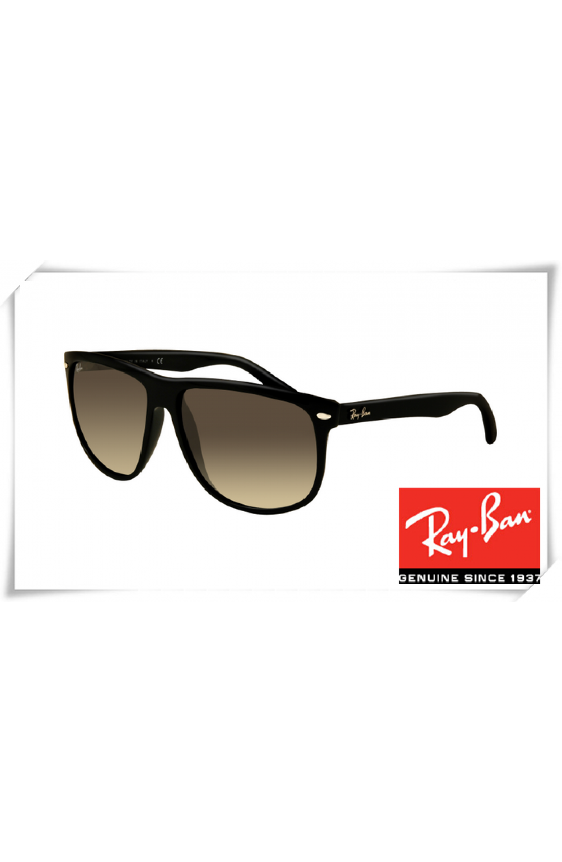 6a2727be663 Cheap Ray Ban RB4147 Sunglasses Black Frame Grey Gradient Lens Wholesale