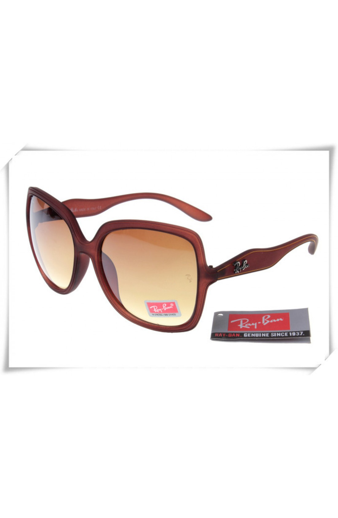 68463a47bf7 Cheap Replica Ray Ban RB2085 Jakie Ohh Sunglasses Brown Frame Brown ...