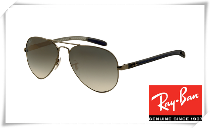 115a8eb22d Ray Ban RB8307 Aviator Tech Sunglasses Carbon Fib.
